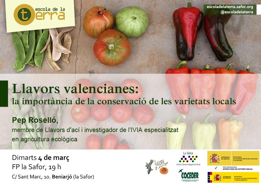 Llavors valencianes: la importància de la conservació de les varietats locals